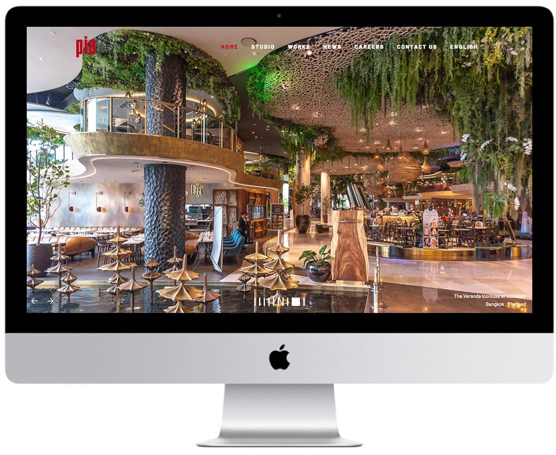 3 PIA Interior Website design and website development