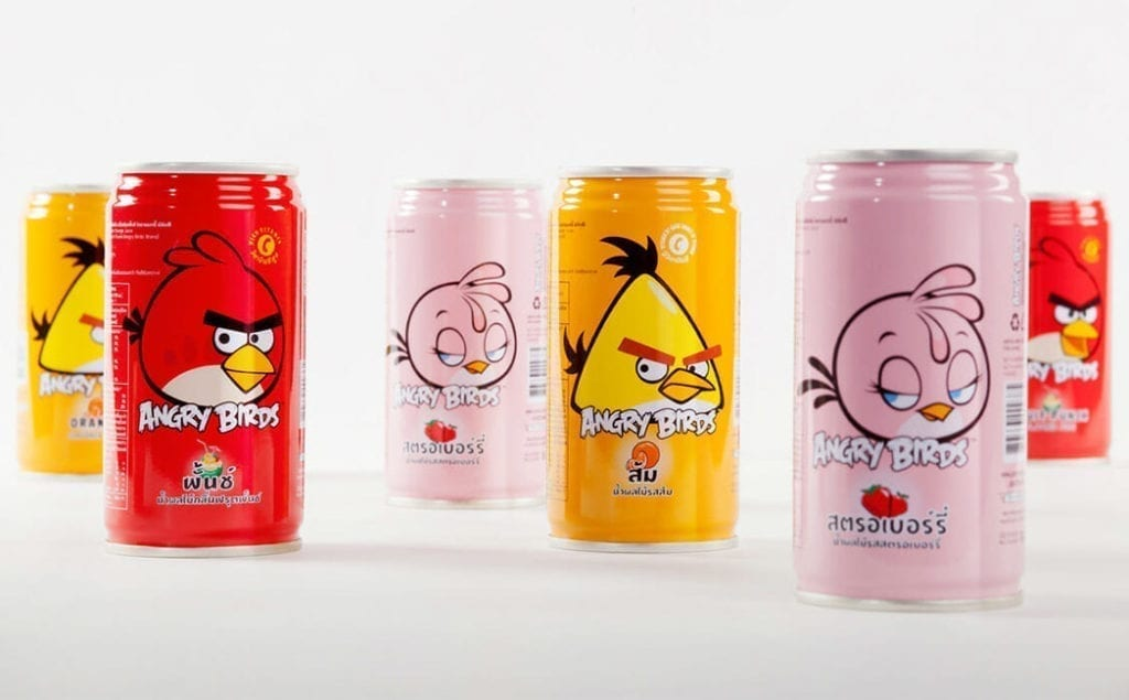 Angry Bords Packaging Design
