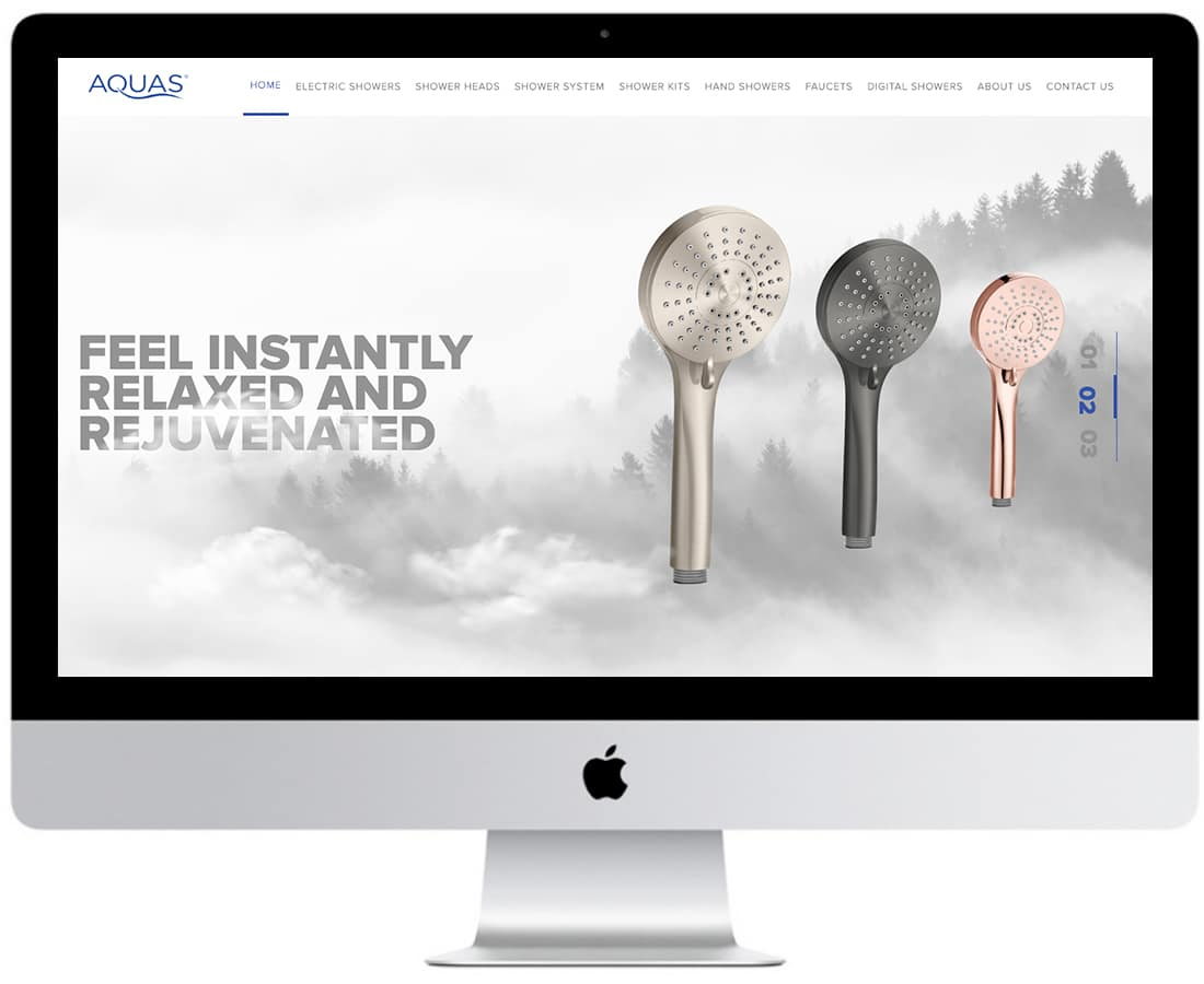 Aquas Website Design Ecommerce 3