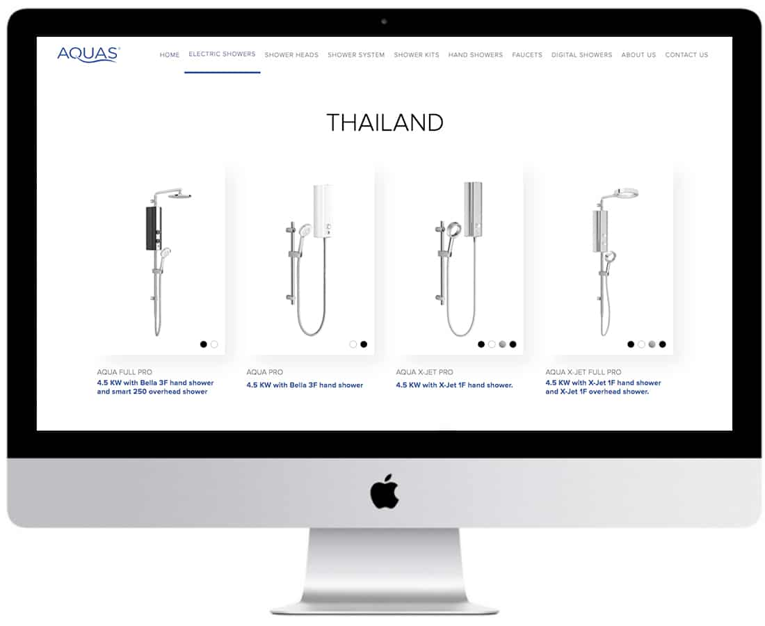 Aquas Website Design Ecommerce 6