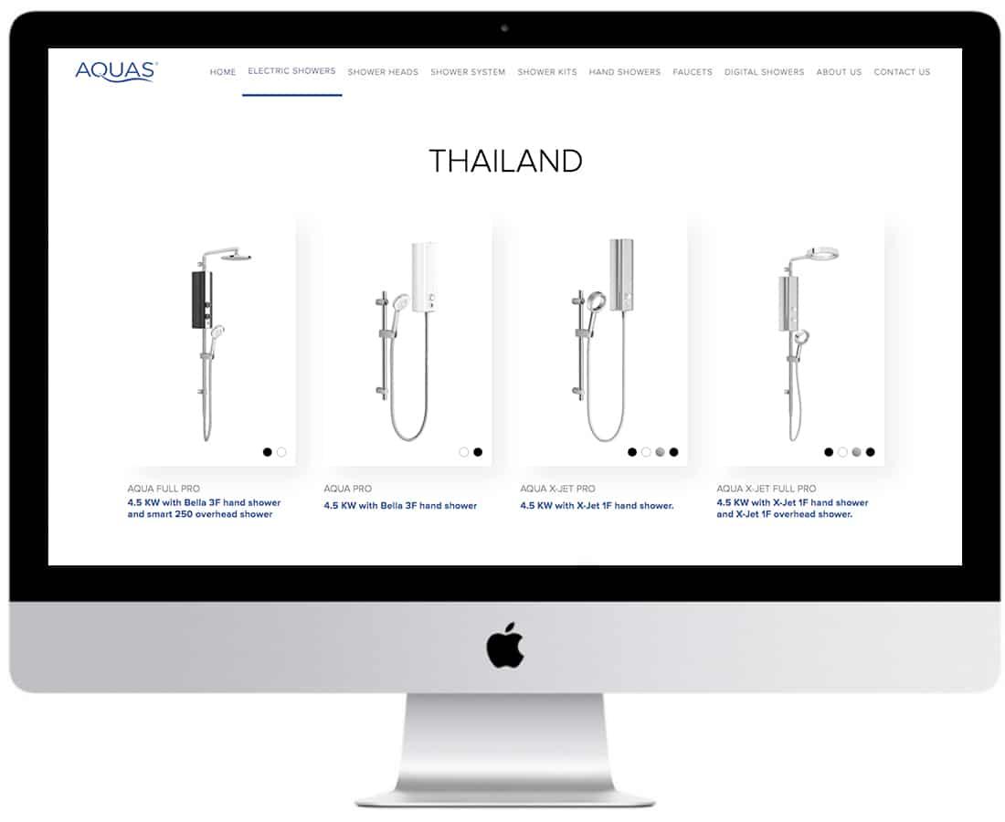 Aquas Website Design Ecommerce 6