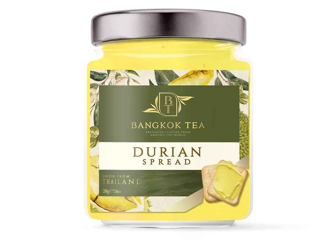 Bangkok Tea Paste Packaging Design 2