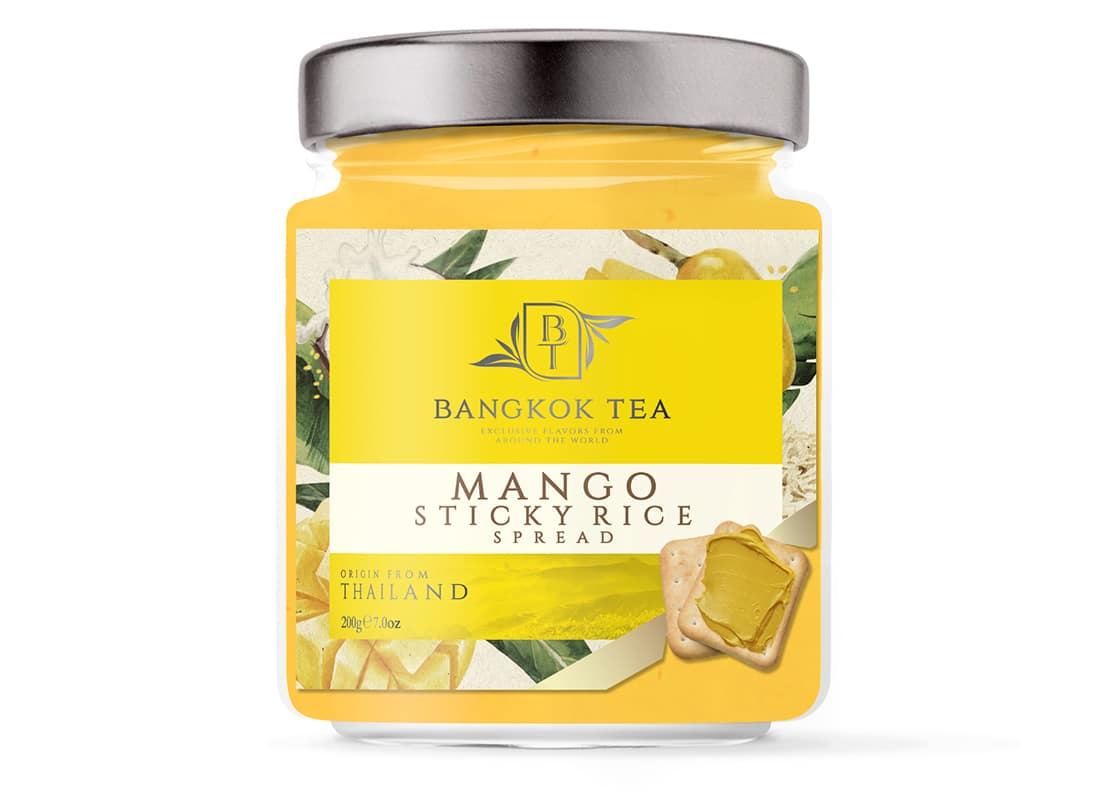 Bangkok Tea Paste Packaging Design 4