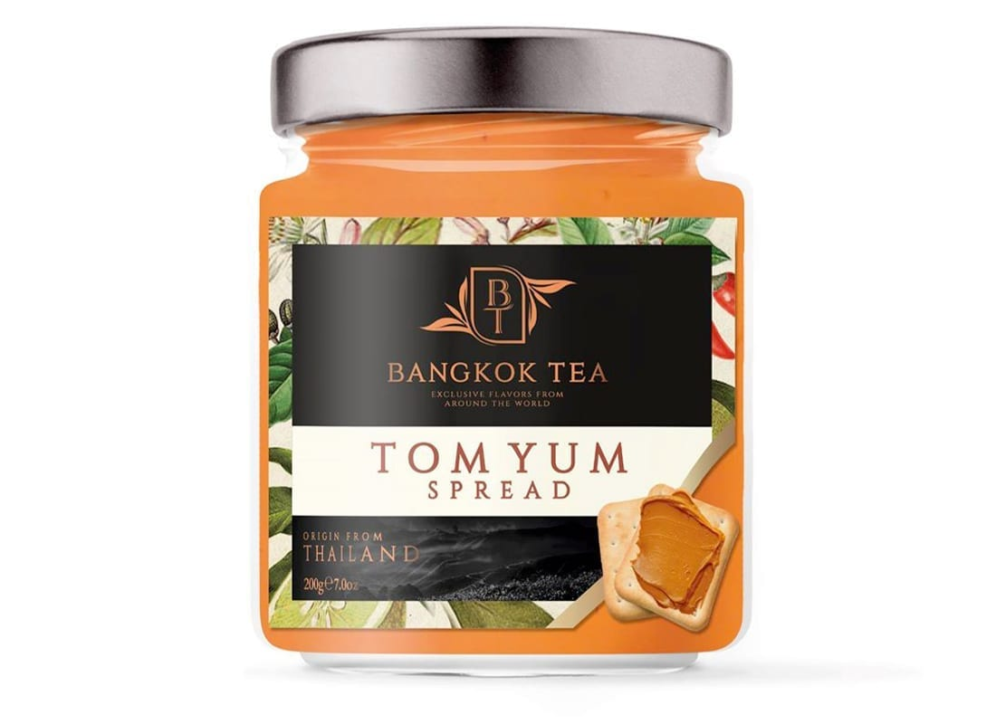 Bangkok Tea Paste Packaging Design
