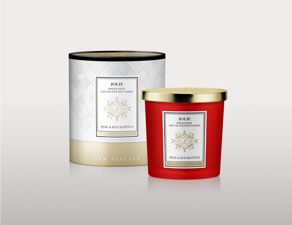 Candle Box Packaging Design by Asia Media