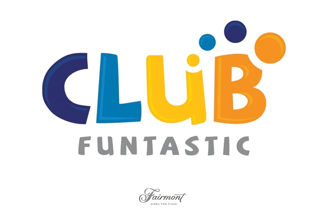 Club Fantastique Logo Design Maldives Fairmont Hotel Logo