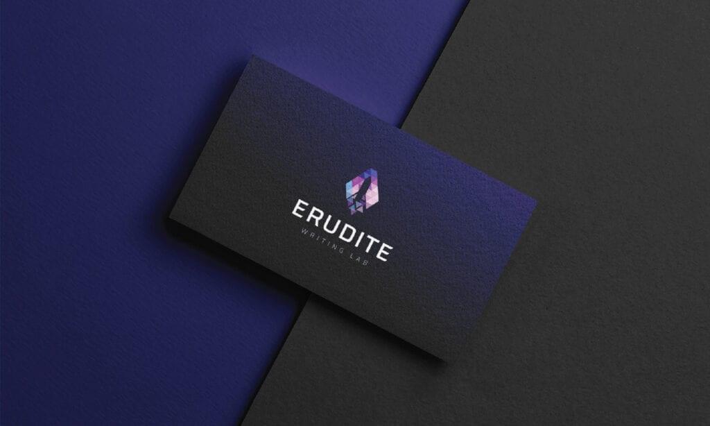 Euridite Logo Design 1 in Mockup by AMS