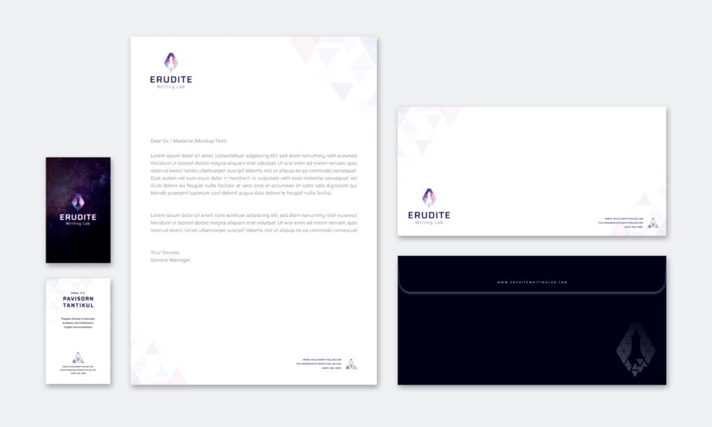 Euridite Stationnary Design by Asia Media Studio