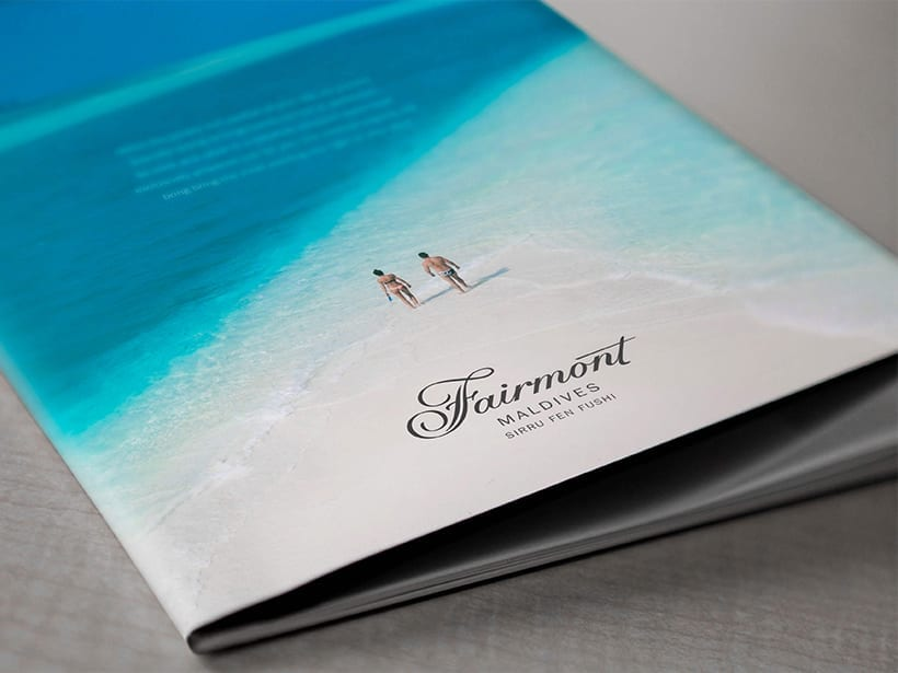 Fairmont - Hotel Brochure design