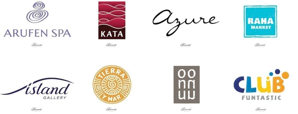Fairmont Logo Designs for Outlets