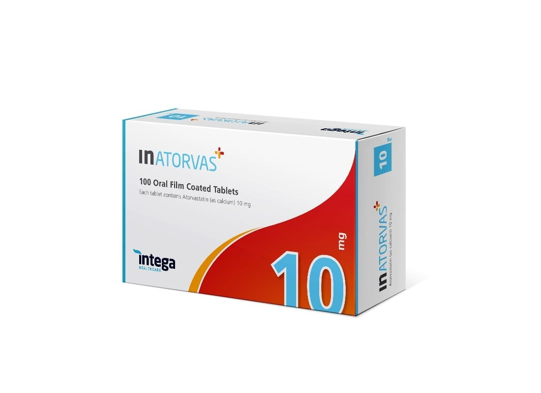 Intega Inatorvas 10mg 100s1