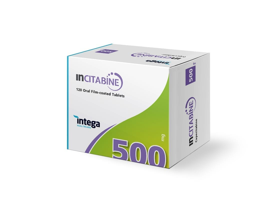 Intega Incitabine 500mg V6