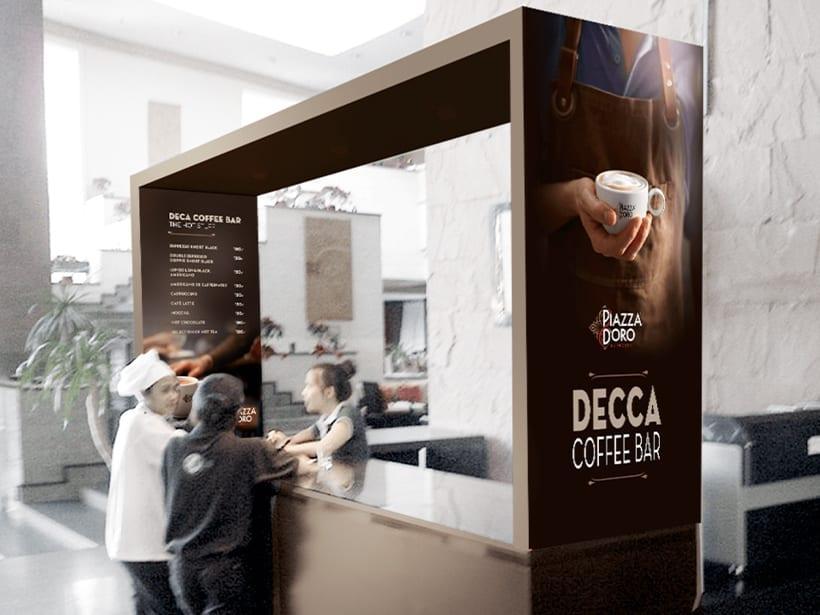 JDE - Coffee stand
