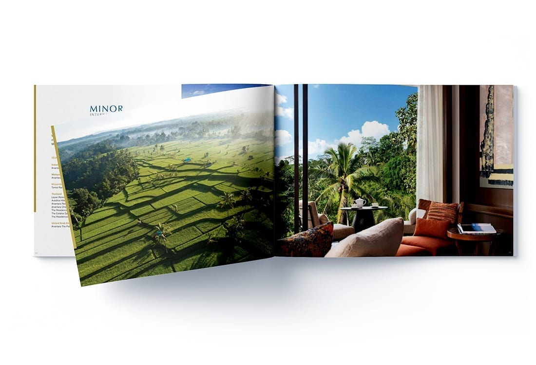 Minor Hotel Brochure Design Anantara Brochure Design 10