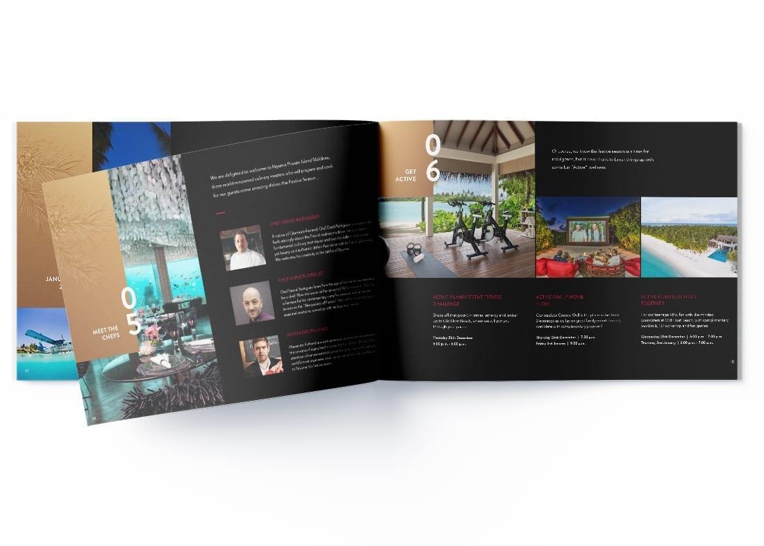 Niyama Hotel Maldives Page Brochure Design Page 5