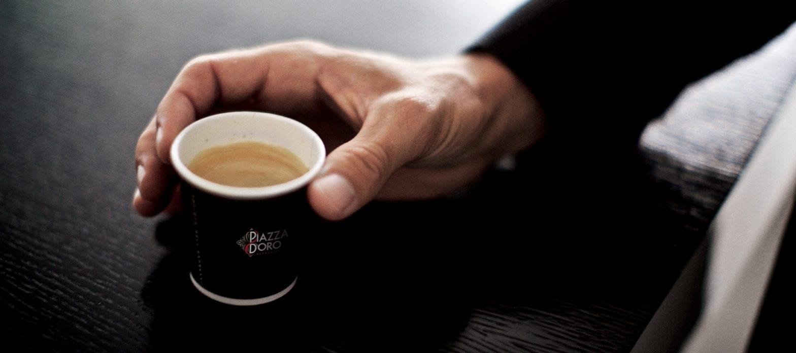 Piazza Doro Coffee Mockup JDE Coffee