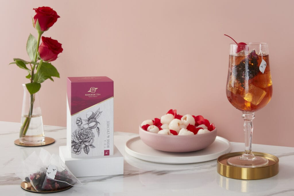 Tea Box Packaging for Bangkok Tea by Asia Media Photo by paap studio