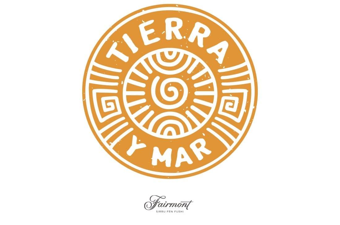 Tierra Y Mar Logo Design Maldives Fairmont Hotel Logo